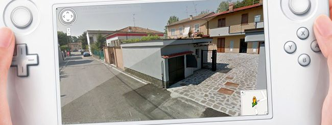 Google Street View incontra Nintendo Wii U