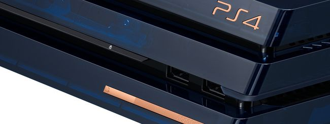 PS4 Pro, ecco la 500 Million Limited Edition