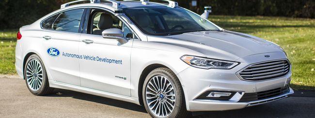 La nuova Ford Fusion ibrida a guida autonoma