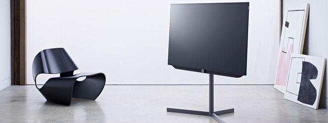Loewe bild 7: TV OLED con tecnologia VantaVision