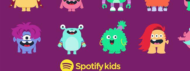 Spotify Kids, arriva l'app musicale per bambini