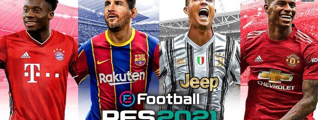Messi e Ronaldo sulla copertina di PES 2021