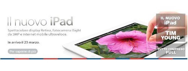 Nuovo iPad anche con TIM