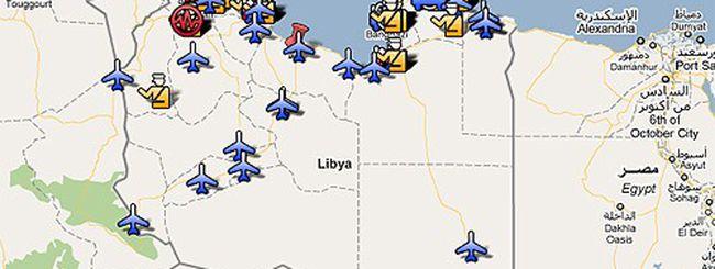 Google e Twitter: come seguire la rivoluzione in Libia