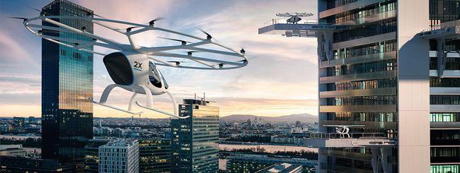 Daimler per il taxi volante autonomo Volocopter