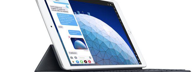 iPad Air 2019, con Chip A12 Bionic e supporto Pencil Support