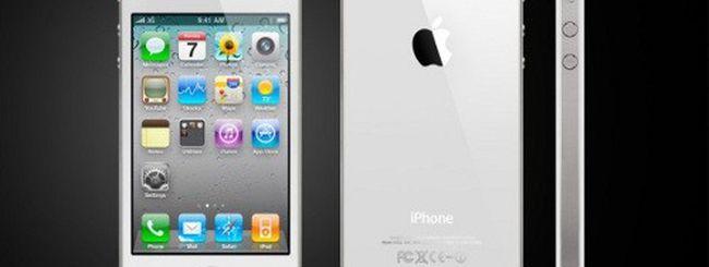 iPhone 4 bianco dalla fine di aprile