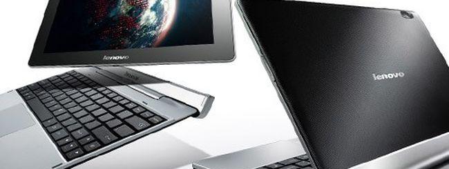 Lenovo IdeaTab S2110, tablet Android 4.0 ICS con dock tastiera