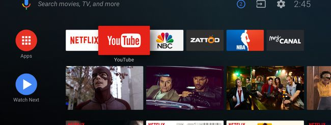 Google presenta il restyling di Android TV