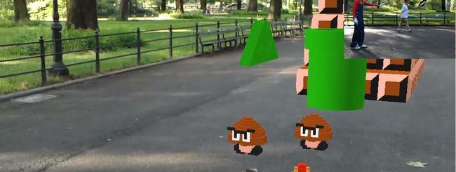 Hololens porta Super Mario Bros nella realtà