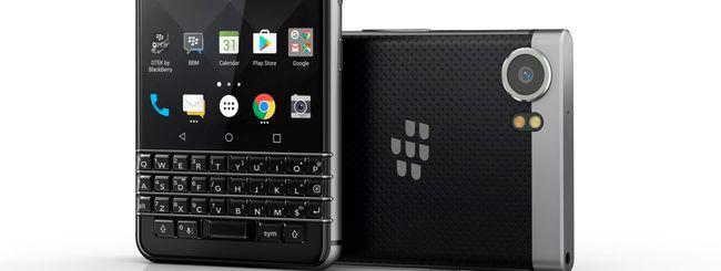 MWC 2017: BlackBerry KEYone con tastiera QWERTY