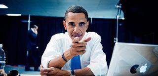 Barack Obama e Mac