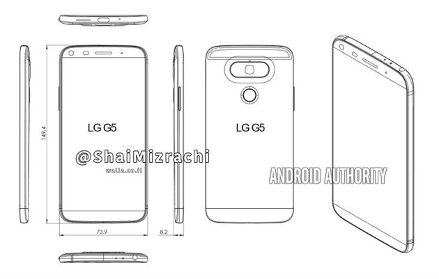 LG G5 diagram