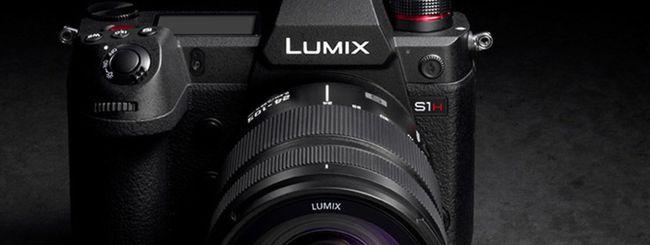 Panasonic, aggiornamento firmware per la Lumix S1H