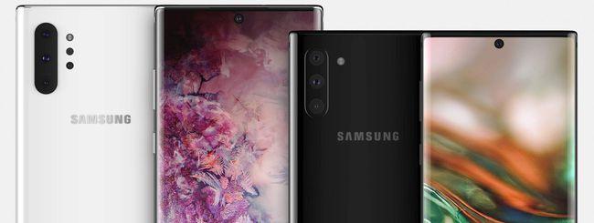 Samsung Galaxy Note 10, annuncio il 7 agosto?