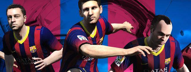 FIFA 14, partnership ufficiale con il Barcellona