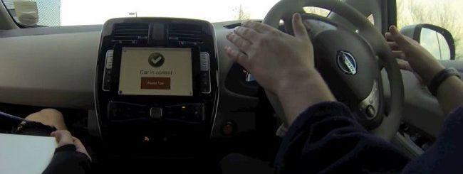 "La Nissan Leaf ""autonoma"" si gestisce con l'iPad"
