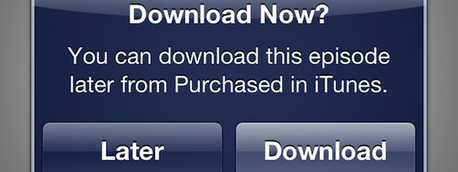 "iTunes Store introduce l'opzione ""Scarica Dopo"""