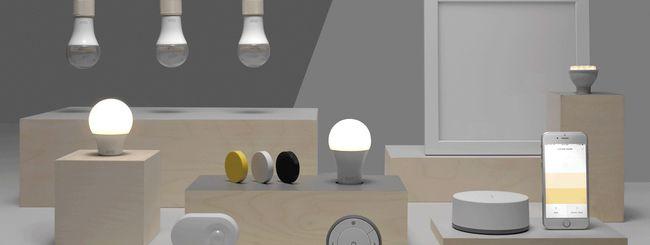 Lampade smart anche da IKEA, con la linea TRÅDFRI