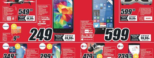 Volantino MediaWorld, arriva il Lumia 950