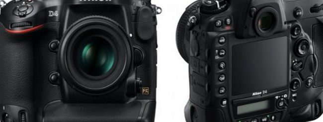 Nikon D4 si mostra in video