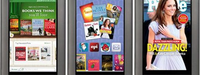 Nook Color 2 sfiderà Amazon Kindle Fire?