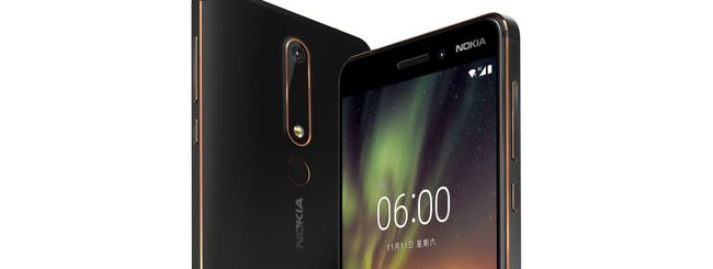 HMD Global annuncia il Nokia 6 (2018)
