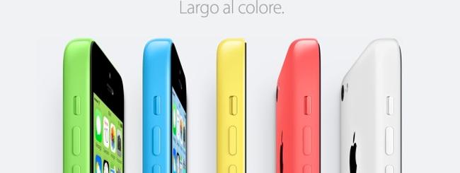 iPhone 5c già in vendita in Italia