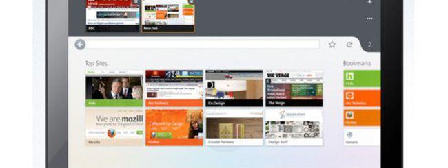 Firefox: interfaccia unica per desktop e mobile