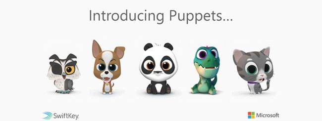 SwiftKey per Android, nuova funzionalità Puppets