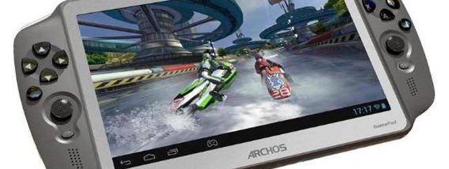 Archos GamePad, debutta il tablet per il gaming