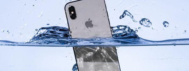 iPhone X: danni importanti nei drop test