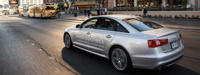"""Audi A6 """"vede"""" i semafori per inquinare meno"""