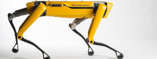 L'inquietante robot di Boston Dynamics ora balla
