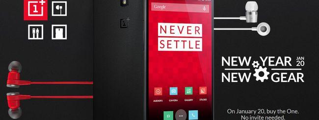 OnePlus One in vendita domani senza invito