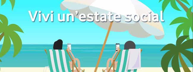 Vodafone Social Summer per un'estate social