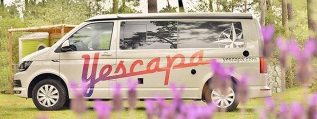 Yescapa: l'app europea di condivisione camper