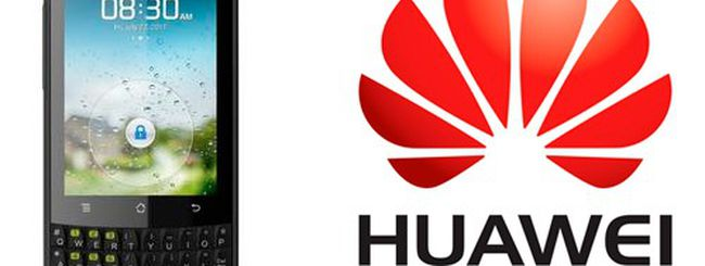 Huawei M660, smartphone Android e tastiera QWERTY