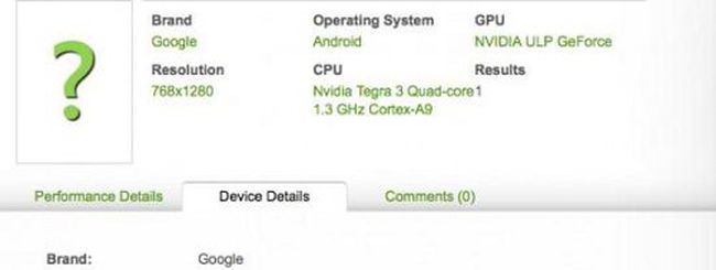 ASUS Nexus 7, tablet Tegra 3 con Android 4.1 JB