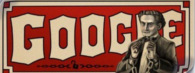 Il Doodle di Google dedicato al mago Houdini