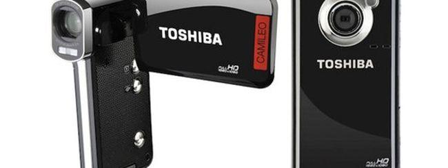 Toshiba Camileo B10 e P100, camcorder tascabili