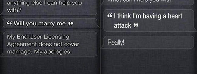 Siri è ironica e ama le parolacce