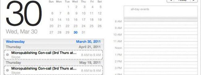Mac OS X Lion Beta 2: novità in iChat e iCal