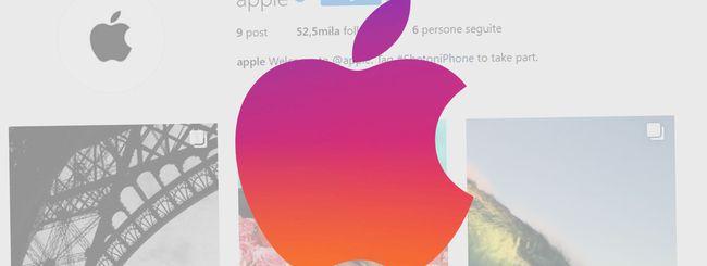 Apple su Instagram con un account ufficiale
