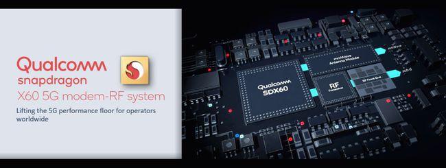 Qualcomm annuncia il modem Snapdragon X60 5G