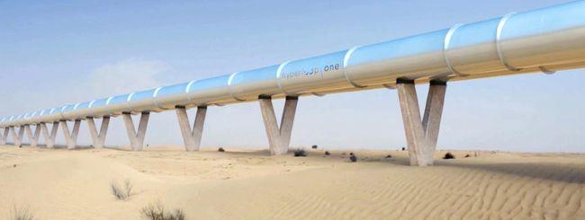 Hyperloop One: il treno da 1.100 Km/h a Dubai