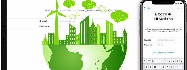 Blocco Attivazione, tanta sicurezza in più che ha un costo per l'ambiente