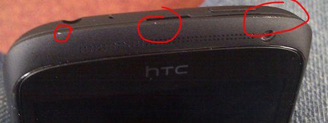 HTC One S, problemi alla scocca in ceramica