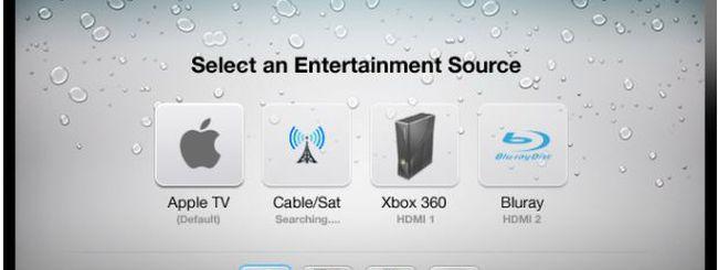 Un concept di Apple TV con Siri, FaceTime e TV via cavo