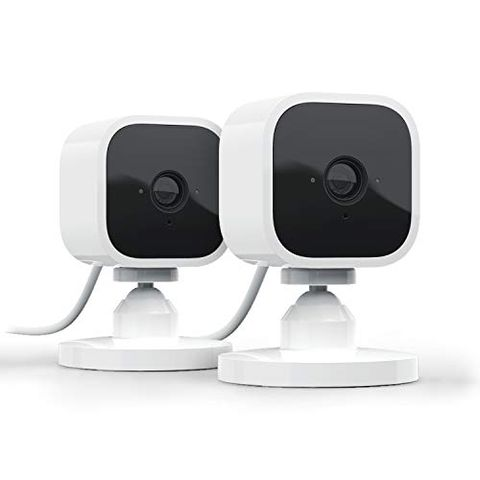 Blink Mini - 2 videocamere di sicurezza intelligenti per interni